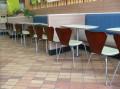 防火板快餐桌|固定脚快餐桌椅供应厂家—深圳优尼克家具欢迎你!
