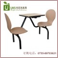龙岗专业快餐桌椅厂家 小吃店快餐厅餐桌椅配套 自产自销