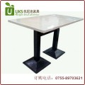 咖啡厅中西餐厅高端餐桌定做 物美价廉的大理石/人造石餐桌供应——深圳优尼克