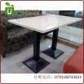 高端餐厅咖啡厅餐桌定制 大理石/人造石餐桌工厂直销