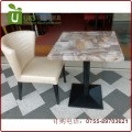 简约高端平价人造石餐桌定制 人造石大理石石英石餐桌工厂销售 保证质量