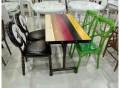 休闲舒适的快餐桌椅生产厂家