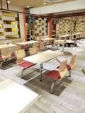 简约式茶餐厅桌椅 甜点店餐厅桌椅定做